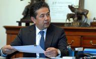 Бывший первый вице-премьер-министр Тайырбек Сарпашев. Архивное фото