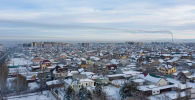 Бишкек шаарынын жакасындагы жаңы конуш. Архив