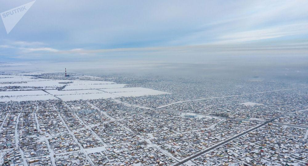 Бишкектин Арча-Бешик конушуна көрүнүш. Архивдик сүрөт