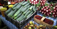 Овощи на сельхоз ярмарке. Архивное фото
