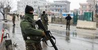 Сотрудники службы безопасности Афганистана в Кабуле