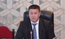 Исполняющий обязанности Президента Кыргызской Республики, Торага Жогорку Кенеша Талант Мамытов. Архивное фото