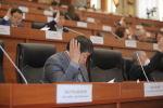 Жогорку Кеңештин депутаттары отурумда. Архивдик сүрөт