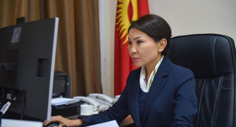 Вице-премьер Эльвира Сурабалдиева