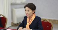 Вице-премьер-министр Кыргызской Республики Эльвира Сурабалиева. Архивное фото