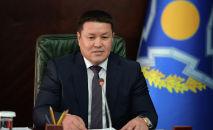 Президенттин милдетин аткаруучу Талант Мамытов