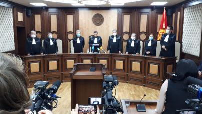 Жогорку соттун Конституциялык палатасынын отуруму