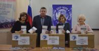 Россотрудничество передало учебники и методические пособия по русскому языку, литературе и истории школам и вузу Кыргызстана