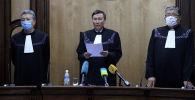 Как КП оглашала свое решение после проверки конституционности законов, принятых Жогорку Кенешем, смотрите в видео Sputnik Кыргызстан.