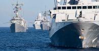 Корабли НАТО, вошедшие в Черное море для учений