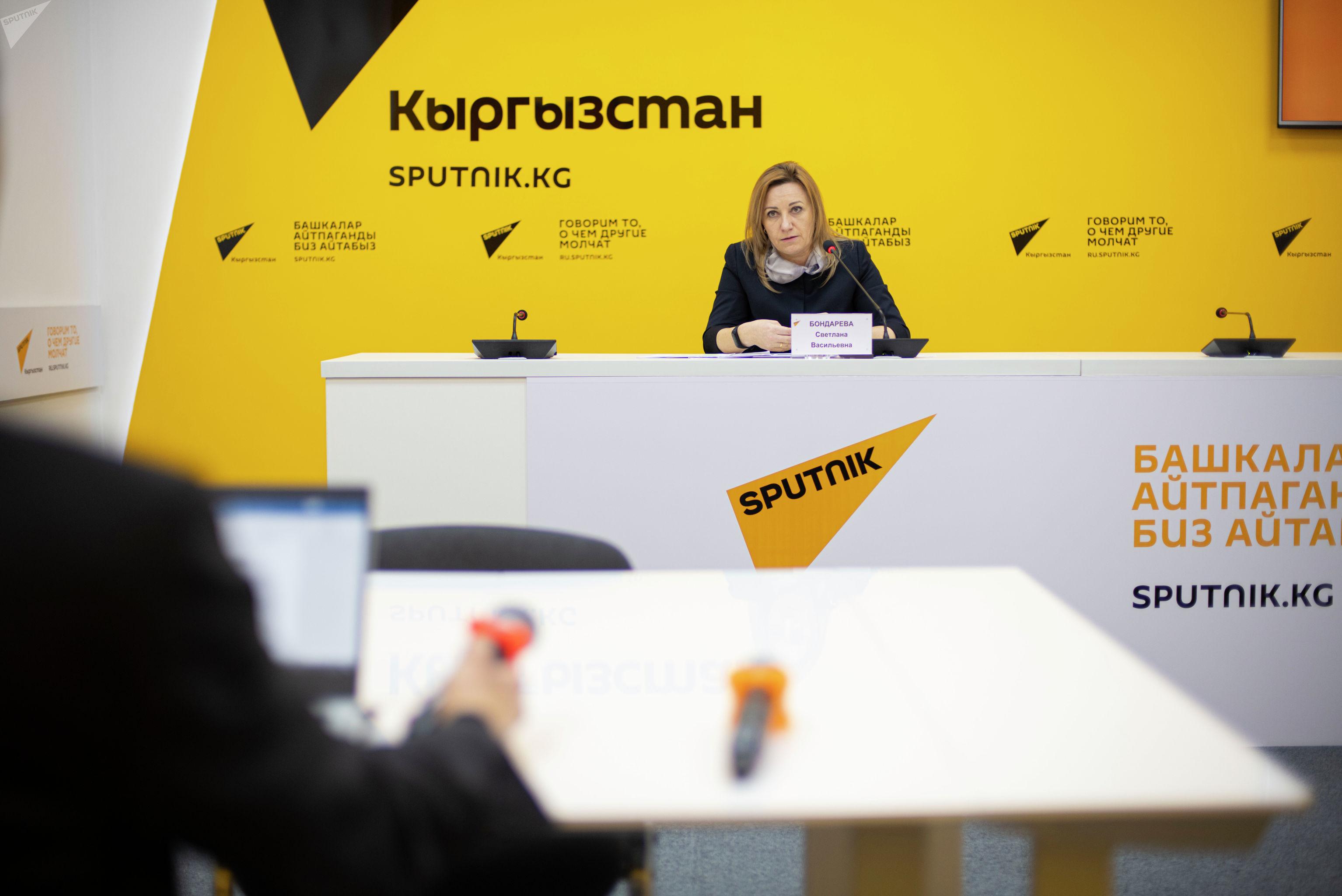 Эксперт секретариата комиссии по вопросам помилования при президенте Светлана Бондарева в мультимедийном пресс-центре Sputnik Кыргызстан.