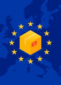 Валюта рыногундагы олку-солкулуктан КРде Европа товарлары кандай кымбаттайт