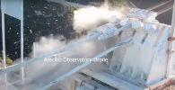На видео попал момент обрушения многотонной подвесной платформы второго по величине радиотелескопа в мире Аресибо в Пуэрто-Рико.