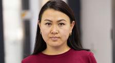 Кыргызгидрометтин атмосфералык абанын булгануусун байкоо бөлүмүнүн башчысы Бегайым Алипова