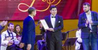 21-летний студент Кыргызской национальной консерватории имени К. Молдобасанова Исламбек Кемелов, который стал одним из победителей Среднеазиатской романсиады