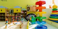 Развивающие игрушки в детском саду. Архивное фото