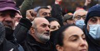 Армениянын борбору Ереван шаарында оппоцизиялык митинг