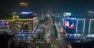 Давно не любовались ночной столицей с высоты? Мы сняли с дрона Бишкек, покрывшийся туманом, ну и смогом...
