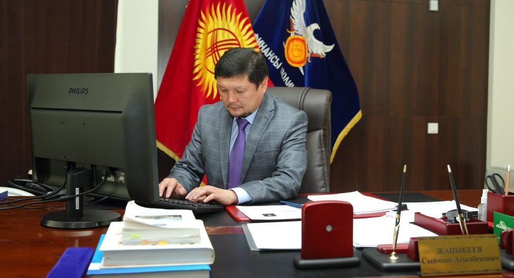 Финансы полициясынын мурдагы башчысы Сыймык Жапыкеев. Архив