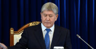 Мурдагы президент Алмазбек Атамбаев. Архив