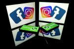 WhatsApp мессенджери менен Instagram социалдык тармагы. Архивдик сүрөт