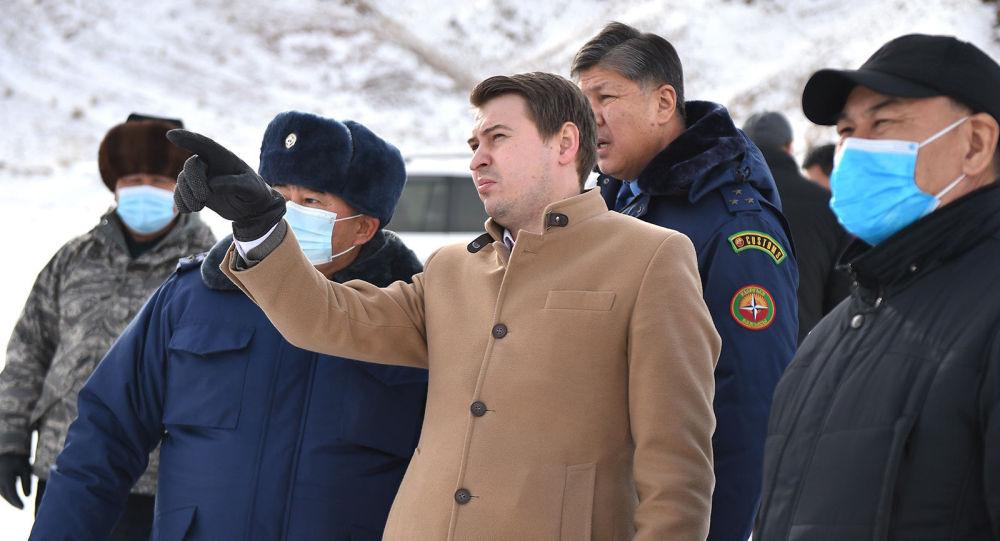 Исполняющий обязанности премьер-министра КР Артем Новиков. Архивное фото