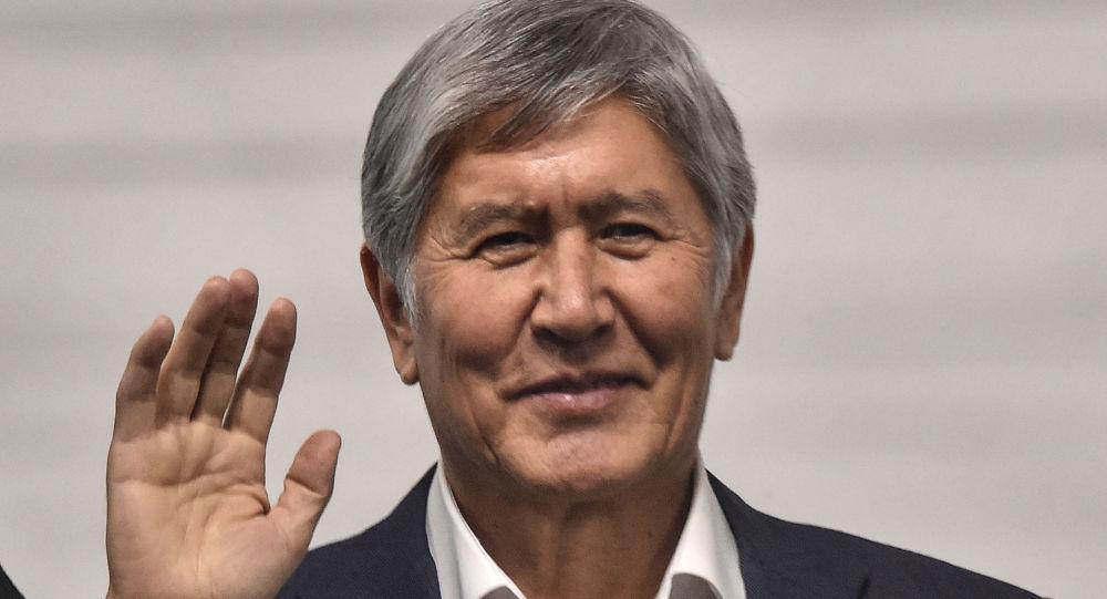 Атамбаев Алмазбек Шаршенович