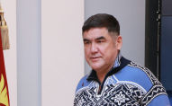 Ички иштер министринин мурдагы орун басары Курсан Асанов. Архивдик сүрөт