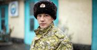 Старший офицер отдела защиты населения и территории Управления МЧС по Бишкеку Жакшылык Талайбеков