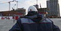 Архитектор на месте строительства. Архивное фото