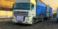 На таможенном посту Достук был задержан грузовик Volvo, везущий контрабандные товары из Узбекистана без соответствующих разрешительных документов