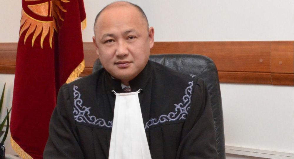 Судья Верховного суда Камиль Осмоналиев