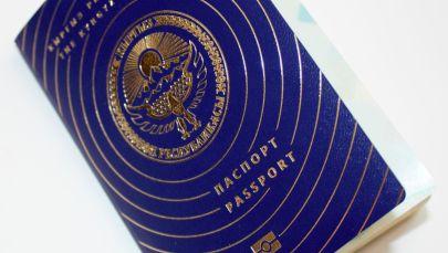 Образцы биометрического общегражданского паспорта гражданина Кыргызстана. Архивное фото