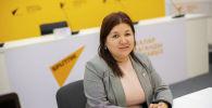Заведующая отделом по защите социально-экономических и культурных прав института омбудсмена КР Салтанат Касымбекова