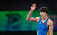 Чемпионка мира Айсулуу Тыныбекова. Архивное фото