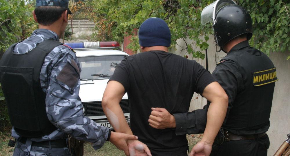 Задержание подозреваемого в похищении казахстанского бизнесмена в Бишкеке. 2007 год
