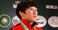 После победы на индивидуальном Кубке мира по спортивной борьбе Айсулуу Тыныбекова дала интервью, рассказав в том числе о своих олимпийских надеждах.