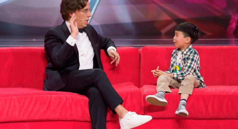 Уроженец Кыргызстана, семилетний Барсбек Аджибаев на шоу Лучше всех