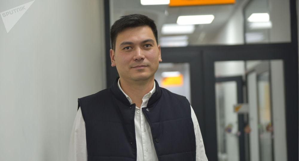 Генеральный директор одного из интернет-провайдеров КР Руслан Егоров