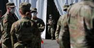 Военнослужащие Национальной гвардии армии США
