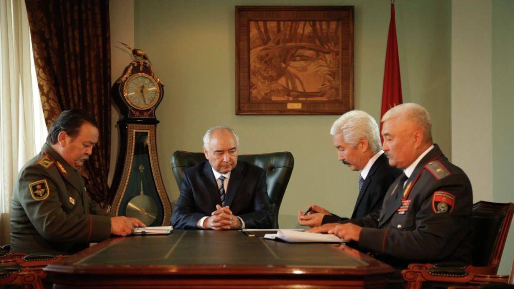 Президент жана бомж тасмасында актёр өлкө башчысынын ролунда