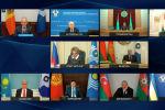 Сегодня, 18 декабря, в режиме видеоконференции проходит заседание Совета глав государств СНГ. Кыргызстан на нем представляет и. о. президента Талант Мамытов.