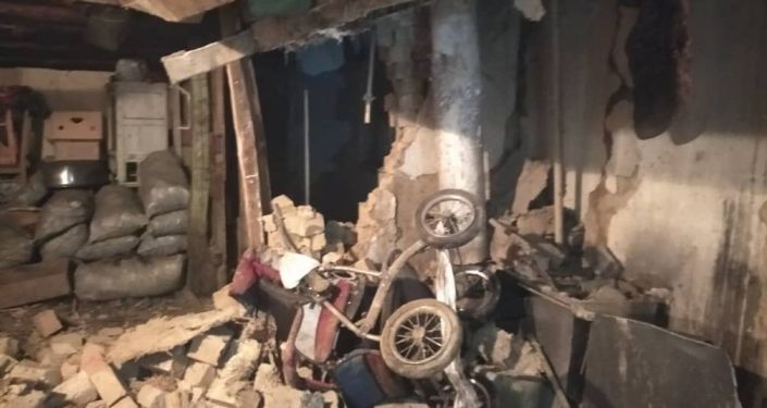 В Управлении патрульной службы милиции Бишкека рассказали о взрыве отопительного котла в одном из частных домов