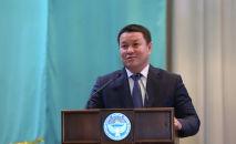 Жогорку Кеңештин төрагасы Талант Мамытов. Архив