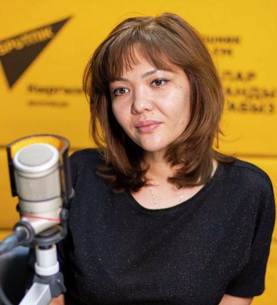 Ведущая радио Sputnik Кыргызстан Аяна Таирова
