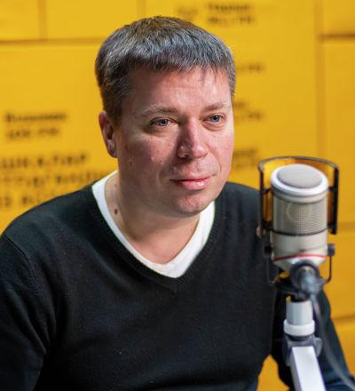 Ведущий радио Sputnik Кыргызстан Вадим Осадченко