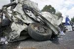 Обломки автомобиля после ДТП. Архивное фото