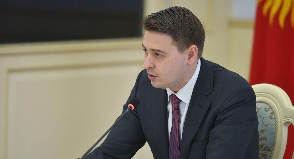 Премьер-министрдин милдетин аткаруучу, биринчи вице-премьер Артем Новиков. Архив