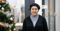 Республикалык клиникалык жугуштуу оорулар ооруканасынын диспансер кабинетинин башчысы Халида Азимбаева