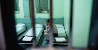 Пациент медицинского вытрезвителя. Архивное фото
